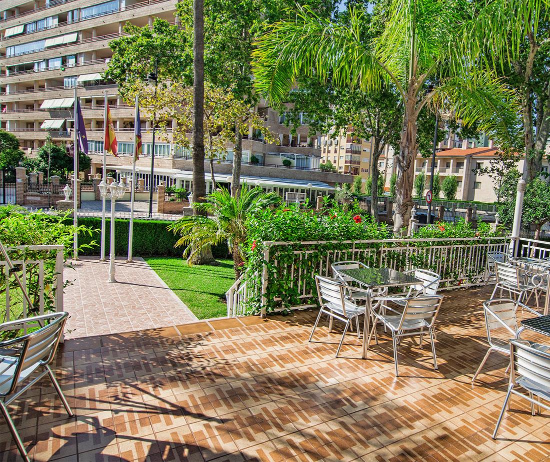 Entrada Hotel Vista Alegre en Benicassim