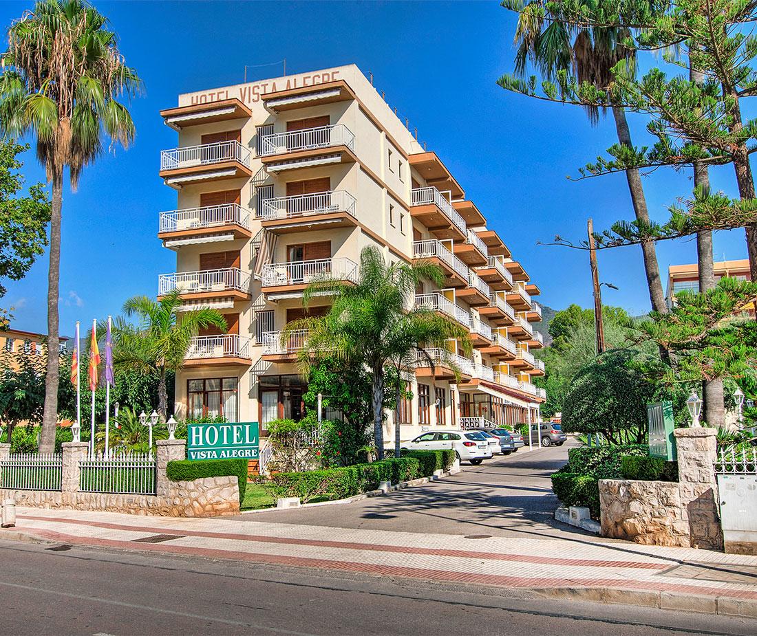 Fachada Hotel Vista Alegre en Benicassim