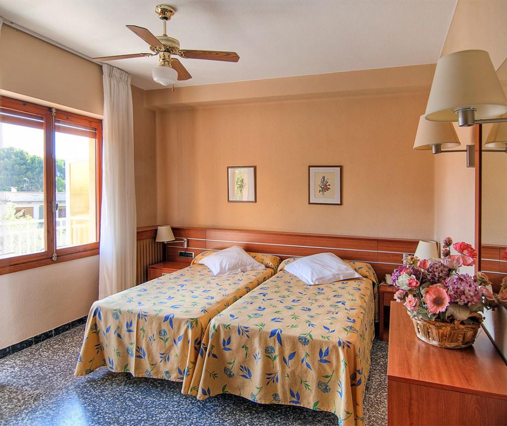 Habitación Hotel Vista Alegre en Benicassim