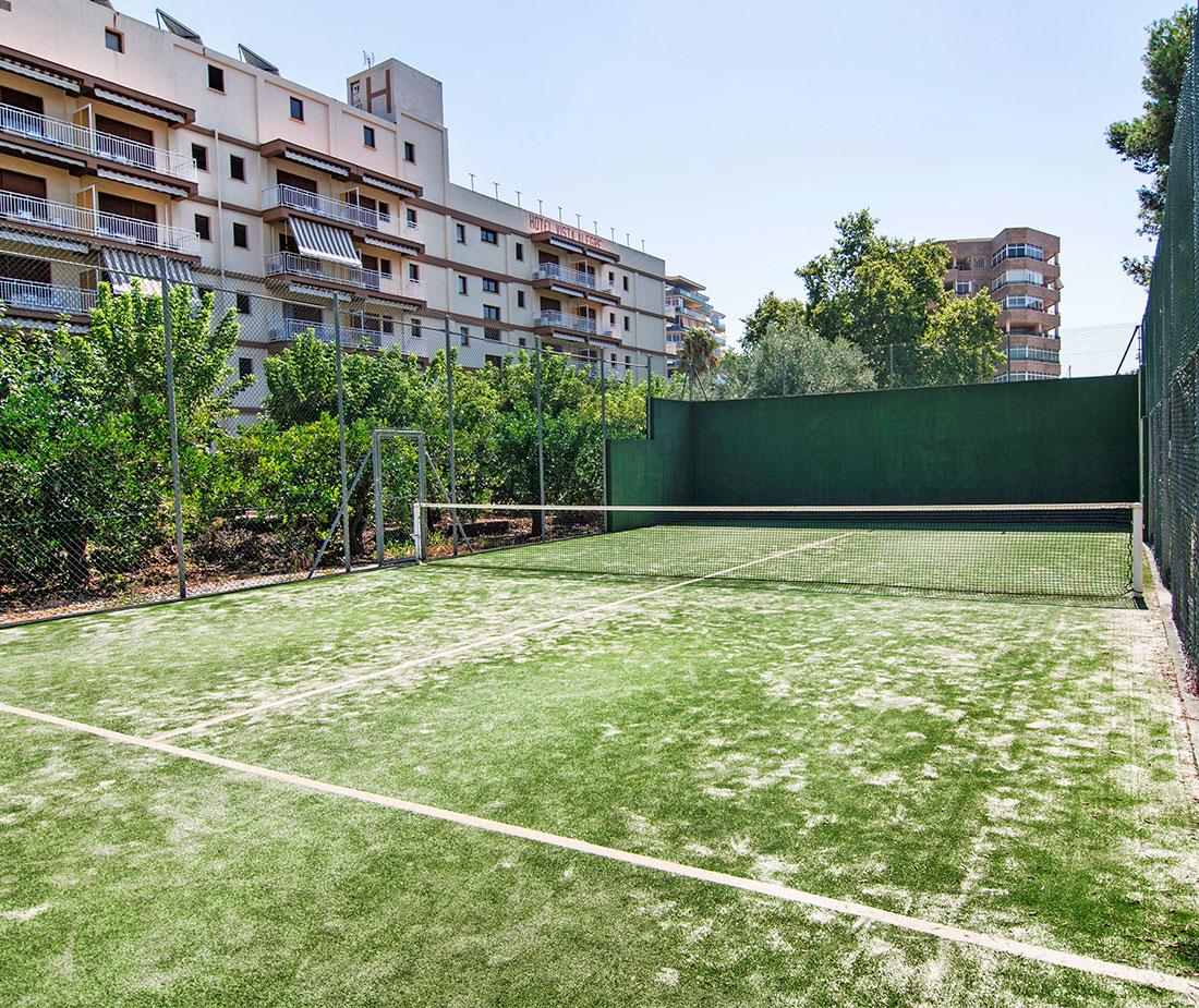 Pista de tenis Hotel Vista Alegre en Benicassim